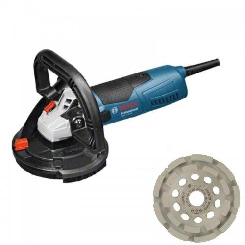 Bruska na beton + L-Boxx + dia hrncový kotouč Bosch GBR 15 CAG Professional