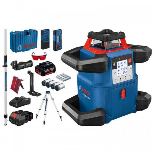 Stavební rotační laser BOSCH GRL 600 CHV + stativ + lať Professional 06159940P5