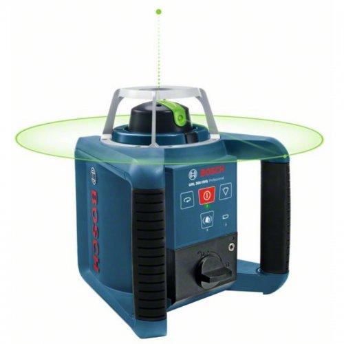 Stavební rotační laser set + přijímač LR 1G Bosch GRL 300 HVG Professional