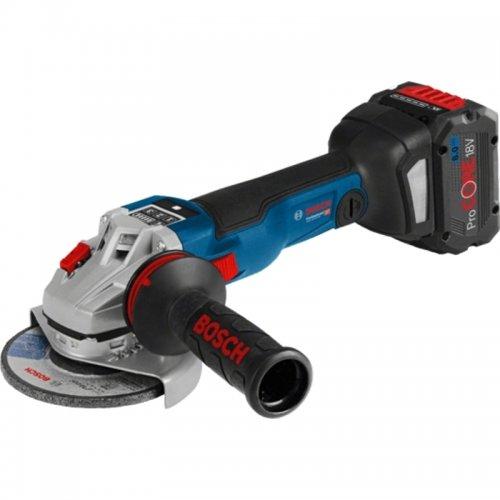 Aku úhlová bruska 125mm 18V 2x5,0Ah Bosch GWS 18V-10 SC Professional 0.601.9G3.40D
