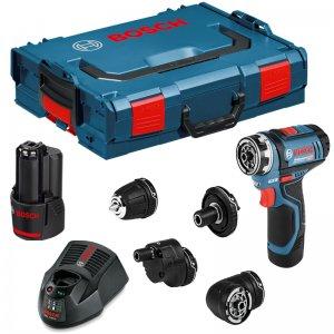 Aku vrtací šroubovák 2x2,0Ah Bosch GSR 12V-15 FC Set Professional