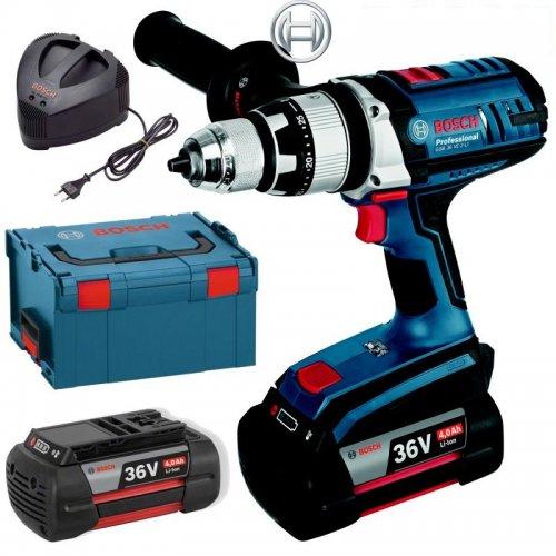 Aku vrtací šroubovák Bosch 2x4,0Ah GSB 36 VE-2-LI Professional 0 601 9C1 100