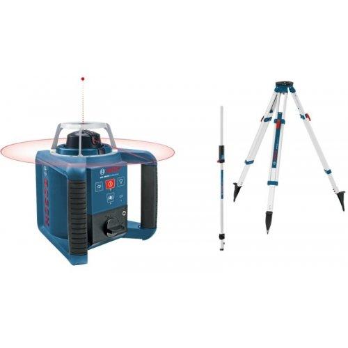 Stavební rotační laser set + BT 170 HD + GR 240 Bosch GRL 300 HV Professional