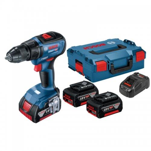 Aku vrtací šroubovák 18V 2x5Ah Bosch GSR 18V-50 Professional 0.601.9H5.001