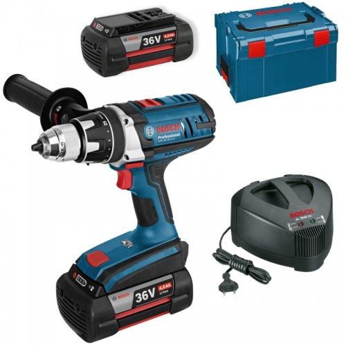 Aku vrtací šroubovák Bosch 2x4,0Ah GSR 36 VE-2-LI Professional 0 601 9C0 100