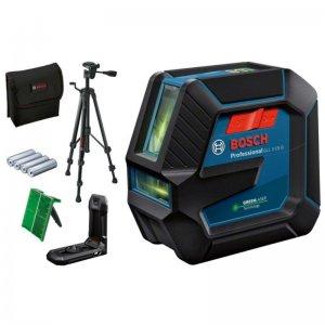 Křížový laser BOSCH GLL 2-15 G se stativem (IP64) 0 601 063 W01