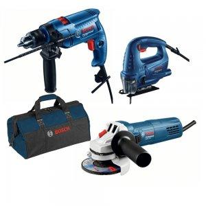 Set nářadí GSB 550 + GWS 750-125 + GST 700 Professional Bosch 0615990M3L