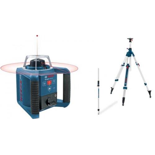 Stavební rotační laser set + BT 300 HD + GR 240 Bosch GRL 300 HV Professional