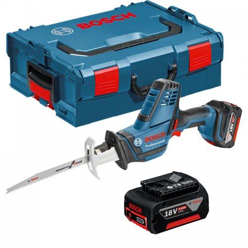 Akumulátorová pila ocaska 18V 2x5,0Ah Bosch GSA 18 V-LI C 0.601.6A5.002
