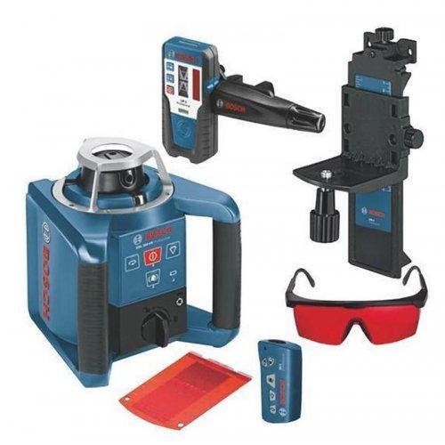 Stavební rotační laser + RC 1 + LR 1 + WM 4 Bosch GRL 300 HV Professional