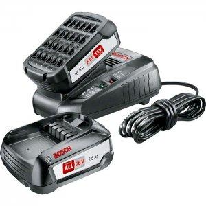 Startovací sada 18V 2x2,5Ah Bosch 1600A011LD + rychlonabíječka AL 1830 CV