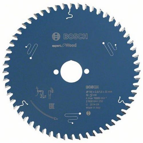 Pilový kotouč Expert for Wood 190 x 30 x 2,6 mm, 56 Bosch 2608644050