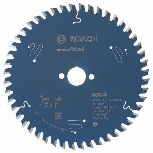 Pilový kotouč pro okružní pily Expert for Wood 225 x 30 x 2,6 mm, 48 Bosch 2608644090