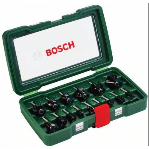 15dílná sada fréz TC (8mm stopka) Bosch 2607019469