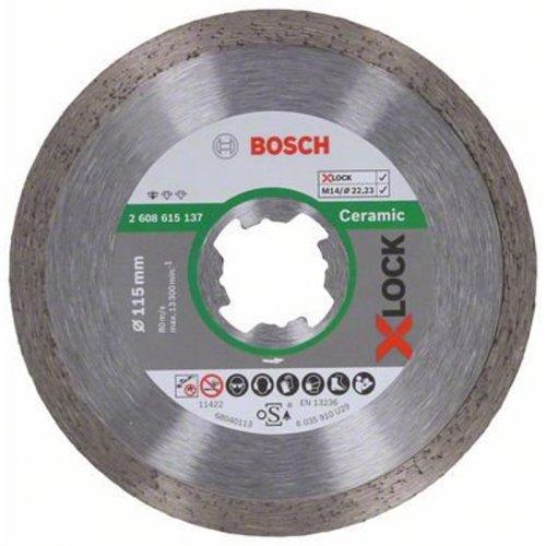 Diamantový dělicí kotouč Standard for Ceramic 115mm X-LOCK 2608615137