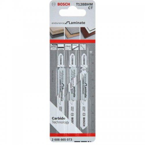 Pilové plátky 3ks T 128 BHM Bosch 2608665073