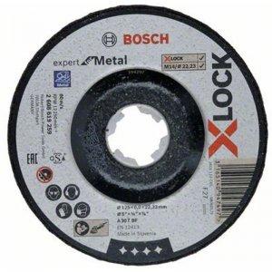 Hrubovací kotouč na kov Expert for Metal 125mm Bosch X-LOCK 2608619259