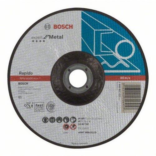 Dělicí kotouč profilovaný Expert for Metal AS 30 S BF, 125 mm, 3,0 mm Bosch 2608603402