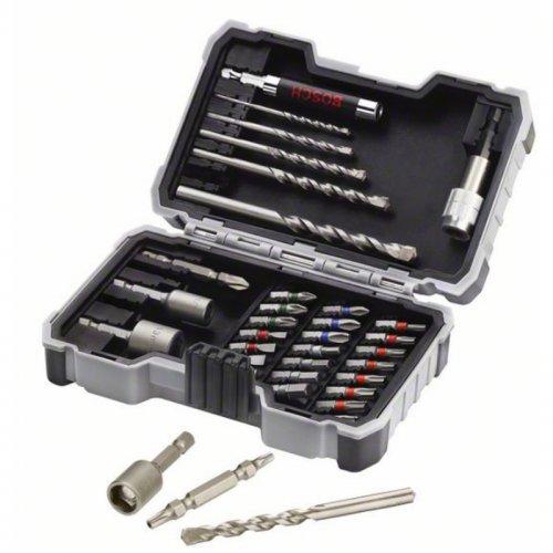 35dílná sada vrtáků a šroubovacích bitů Bosch 2607017326