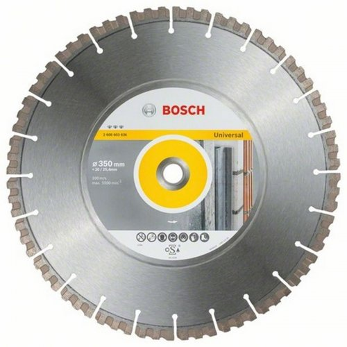 Diamantový dělicí kotouč Best for Universal 400 x 20/25,40 x 3,3 x 15 mm Bosch 2608603637