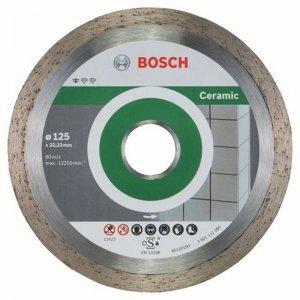 Diamantový dělicí kotouč 10ks Standard for Ceramic 125 x 22,23 x 1,6 x 7 mm Bosch 2608603232