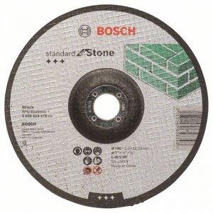 Dělicí kotouč profilovaný Standard for Stone C 30 S BF, 115 mm, 22,23 mm, 2,5 mm Bosch 2608603173