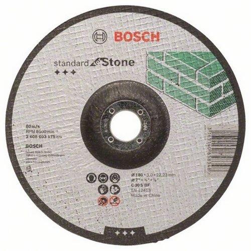 Dělicí kotouč profilovaný Standard for Stone C 30 S BF, 180 mm, 22,23 mm, 3,0 mm Bosch 2608603175