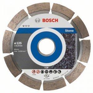 Diamantový dělicí kotouč 10ks Standard for Stone 125 x 22,23 x 1,6 x 10 mm Bosch 2608603236