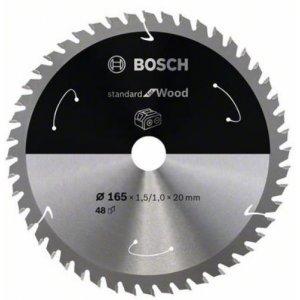 Pilový kotouč 165×1,5/1×30 T48 Standard for Wood Bosch 2608837687
