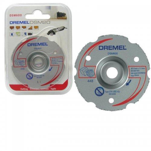 Víceúčelový kotouč - zapichovací řezy Dremel DSM600