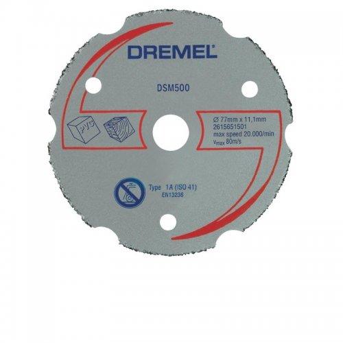Víceúčelový karbidový kotouč Dremel DSM500