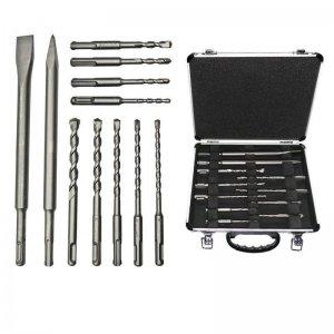 Sada sekáčů a příklepových vrtáků 11-ti dílná SDS-Plus Bosch Professional 2608578765