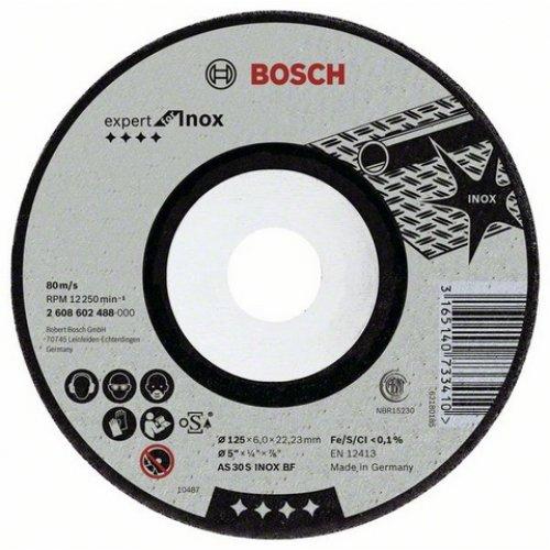 Hrubovací kotouč Inox AS 30 S INOX BF, 150 mm, 22.23 mm, 6.0 mm Bosch