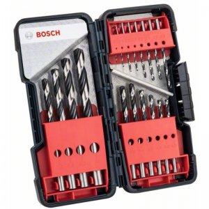 BOSCH 18dílná sada spirálových vrtáků HSS PointTeQ ToughBox 2.608.577.350