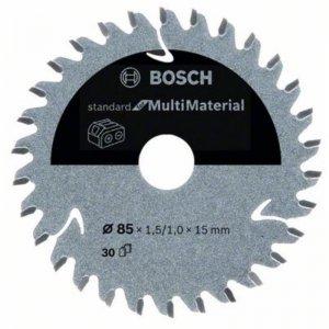 Pilový kotouč 85×1,5/1×15 T30 Standard for Multimaterial Bosch 2608837752