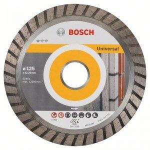 Diamantový dělicí kotouč 10ks Standard for Universal Turbo 125 x 22,23 x 2 x 10 mm Bosch 2608603250