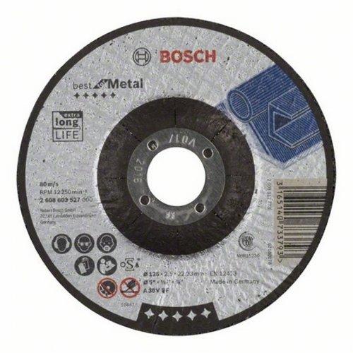 Dělicí kotouč profilovaný Best for Metal A 30 V BF, 125 mm, 2,5 mm Bosch 2608603527