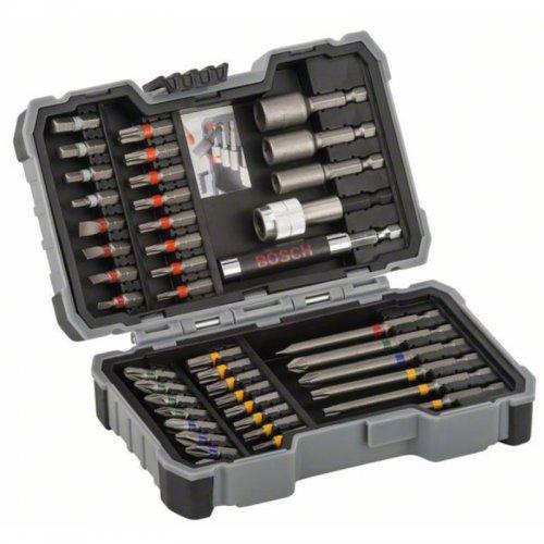 43dílná sada bitů a nástrčných klíčů Bosch 2607017164