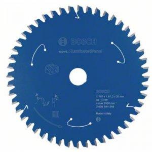 Pilový kotouč 165×1,8/1,2×20 T48 Expert for Laminated Panel Bosch 2608644549