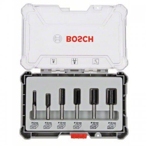 Sada drážkovacích fréz s 6mm vřetenem Bosch 2607017465