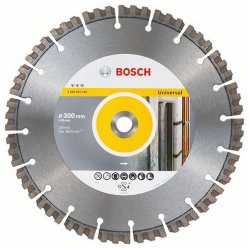 Diamantový dělicí kotouč Best for Universal 150 x 22,23 x 2,4 x 12 mm Bosch 2608603631