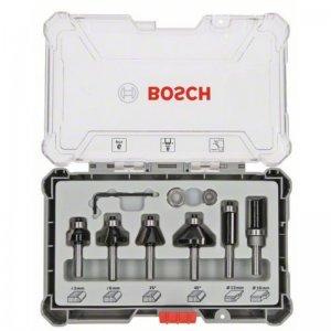 Sada ohraňovacích fréz s 8mm vřetenem Bosch 2607017469