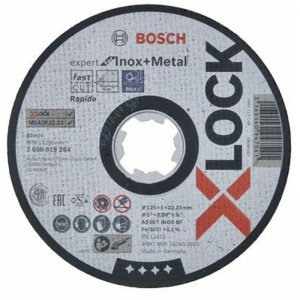 Řezný kotouč na kov Expert for Inox and Metal 125mm Bosch X-LOCK 2608619264