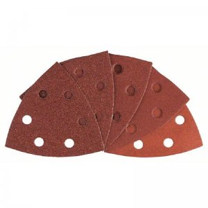 10dílná sada brusných papírů 93 mm; 60 / 80 / 100 / 120 / 180 Bosch 2608607540