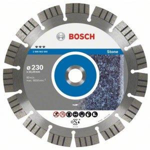 Diamantový dělicí kotouč Best for Stone 150 x 22,23 x 2,4 x 12 mm Bosch 2608602643