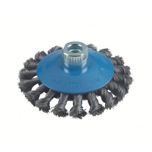 Kuželový kartáč 115 mm, 0,5 mm, 12500 U/ min, 14 Bosch