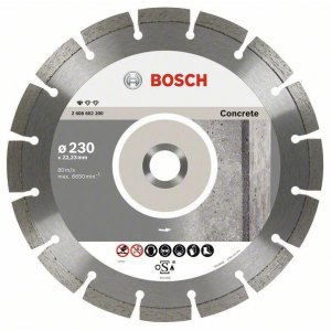 Diamantový dělicí kotouč Standard for Concrete 115 x 22,23 x 1,6 x 10 mm Bosch 2608602196