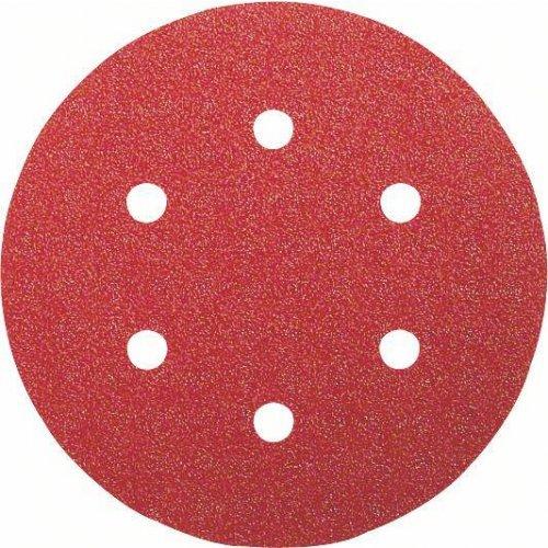 6dílná sada brusných papírů 150 mm 60; 120; 240 Bosch 2608605102