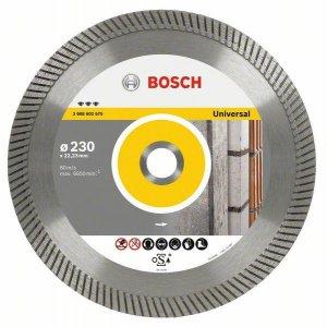 Diamantový dělicí kotouč Best for Universal Turbo 150 x 22,23 x 2,4 x 12 mm Bosch 2608602673