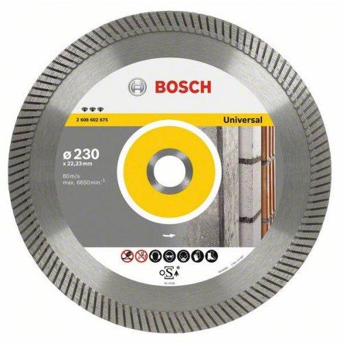Diamantový dělicí kotouč Best for Universal Turbo 125 x 22,23 x 2,2 x 12 mm Bosch 2608602672